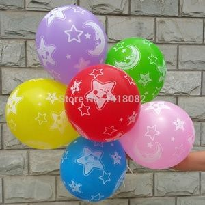 Independent Party Supplies - 50 Pieces of Variety Of Latex Balloons, 12 Inch 🌸